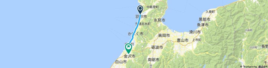 PLAG 往 金沢