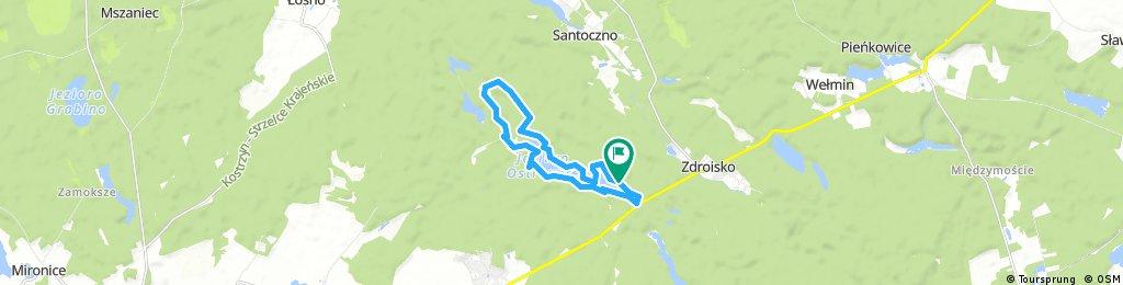 Maraton Nierzym trzech jezior 25.03.2018