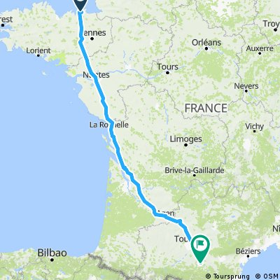 St Malo to Lapenne