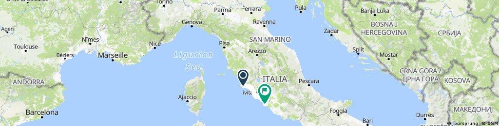 Tuscany, Italy: Rome Fiumicino - Firenze - Bologna International
