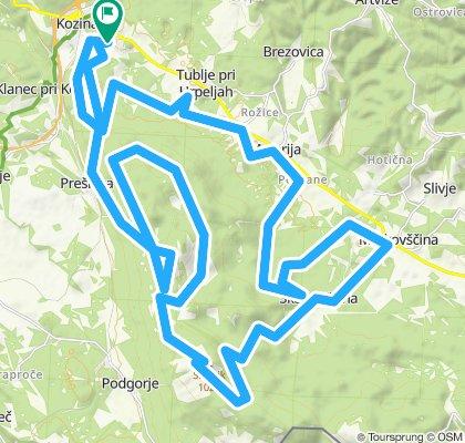 MTB Slavnik, 50 km