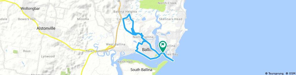 Ballina Heights Bike Ride