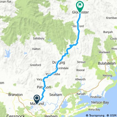 Day 3: Maitland to Gloucester