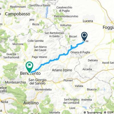 Dia 7 Troia a Benevento