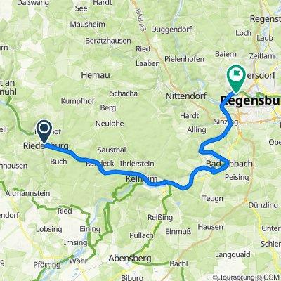 🚴♀️E*Bike🇩🇪 26.08.18.- Tour 5: So. Im Altmühltal von Riedenburg nach Regensburg