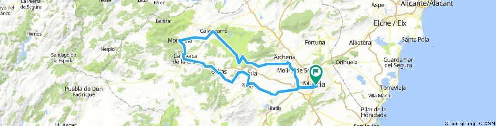 Murcia - Caravaca