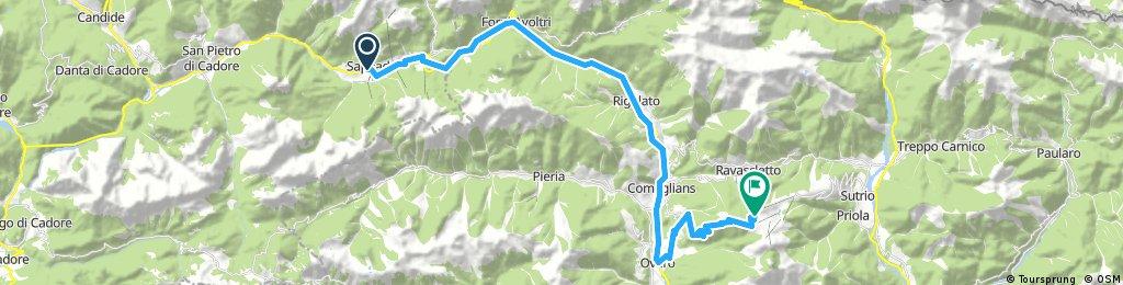Sappada to Monte Zoncalan