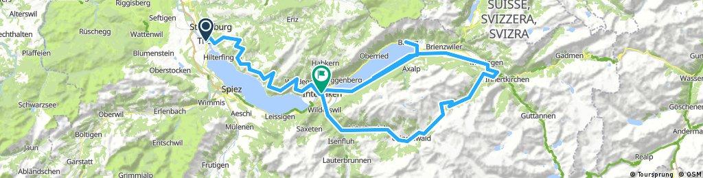THUN-GRINDELWALD via Grosse Scheidegg