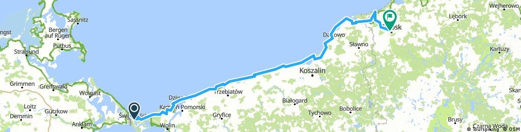 Bałtyk czerwiec 2018