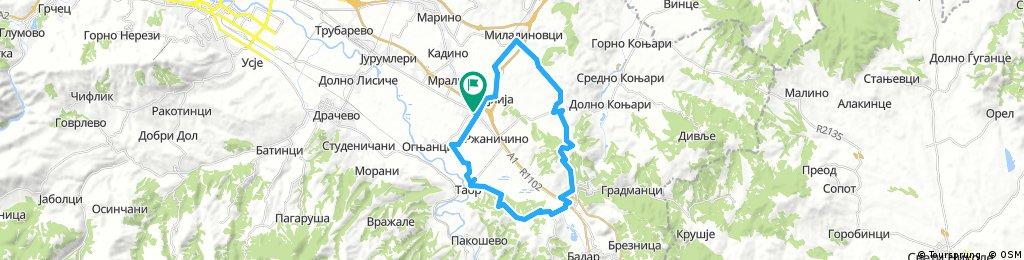 Petrovec-Taorski Srt - Katlanovo - Ciflik