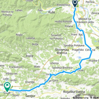 Maribor - Celje