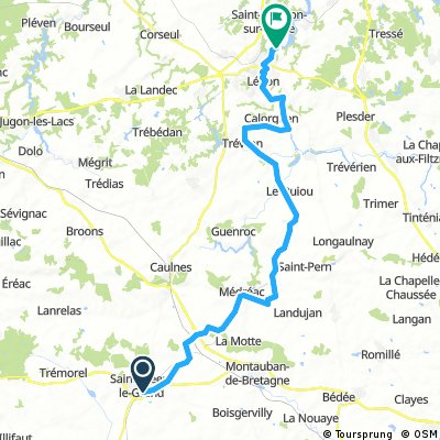 3-Saint Méen le Grand/Camping Taden-Dinan