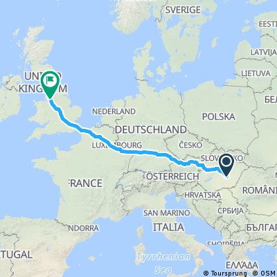 Manchester - Luxembourg- Szolnok