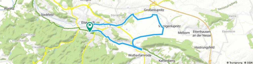 Eisenach: Kleine Hörselbergrunde