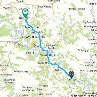 Vernon - Barentin 78km 5h30
