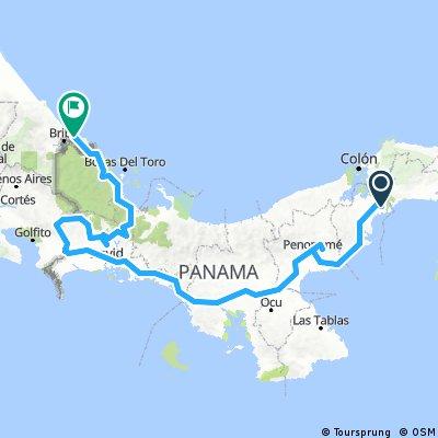 Panama City  Costa rica