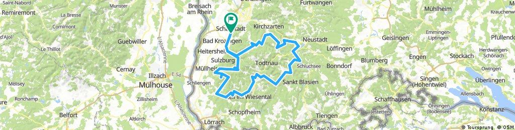 Schwarzwald Rennrad-Marathon 2018