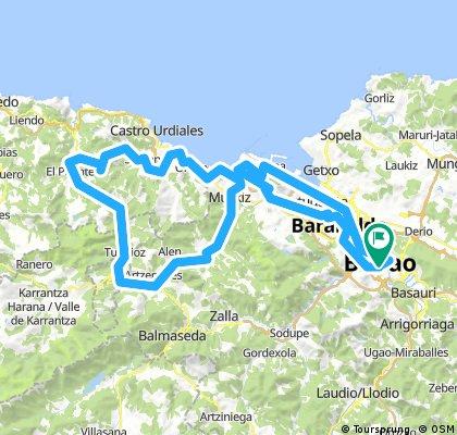 Excursión Amistad Bilbao 2018 - (A 3)- (carril bici)