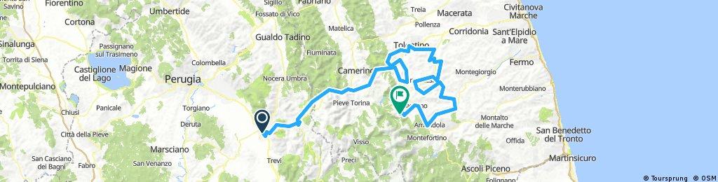 Tirreno Adriatico Foligno Sassotetto
