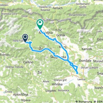 Bled - Bohinjsko - Ljubljana
