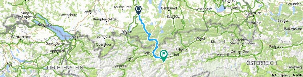 4_Peiting - Innsbruck