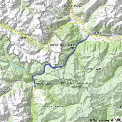Cycling the Alps Stelvio Pass (2759m)
