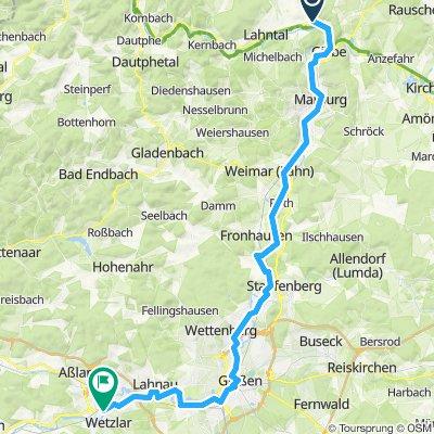Lahntal Radweg - Tag2