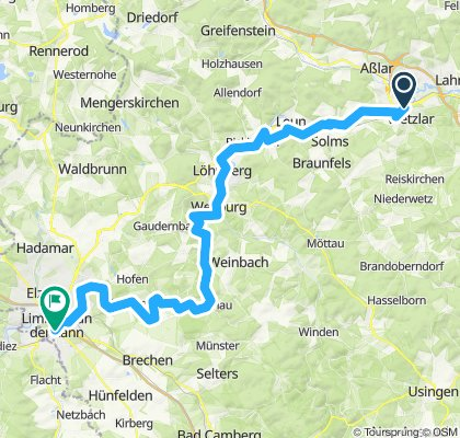 Lahntal Radweg - Tag3