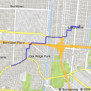 Cycling routes and bike maps in and around Metairie Bikemap Your