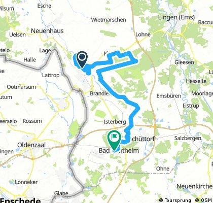 Grafschafter Fietsentour Tag4