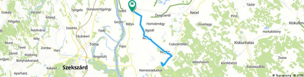 Januári kezdés, Kalocsa-Hild-Kalocsa