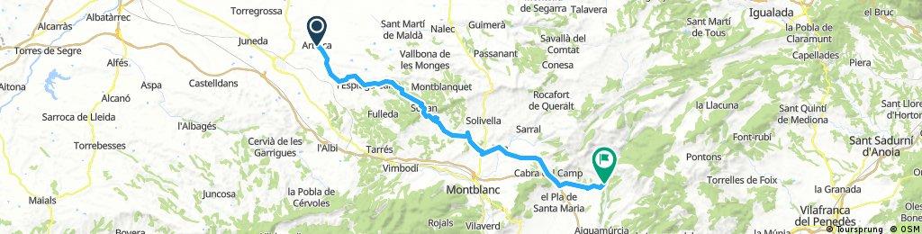 Arbeca - El Pont d'Armentera