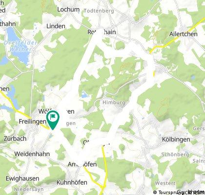 Rothenhain 20 km