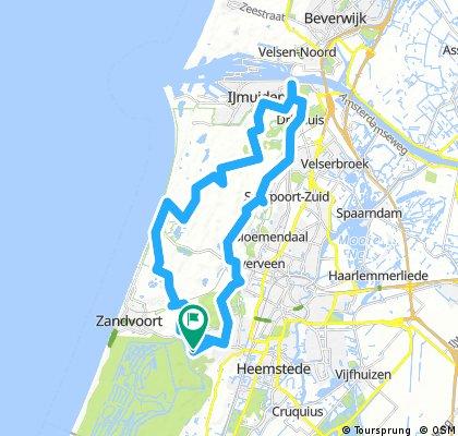 Bentveld Nordseekanal und retour