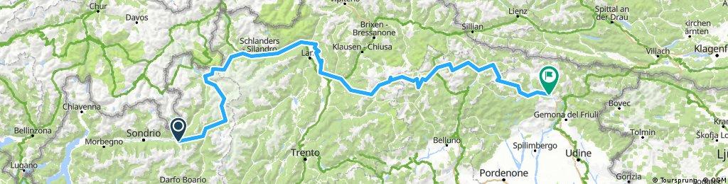 Stage 3: Aprica- Tolmezzo