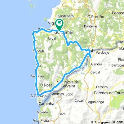 Combinado sur de Pontevedra, escapatorias