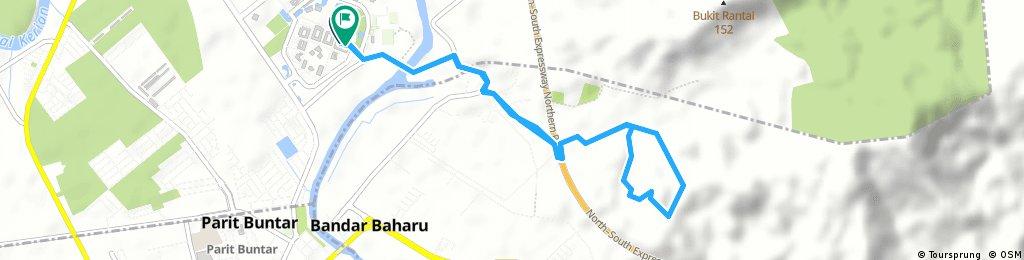 track Halim Bukit Tebuan