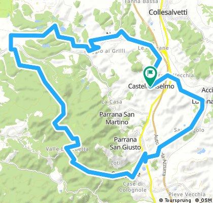 castello - nugola - cisternino - valle b - luciana -