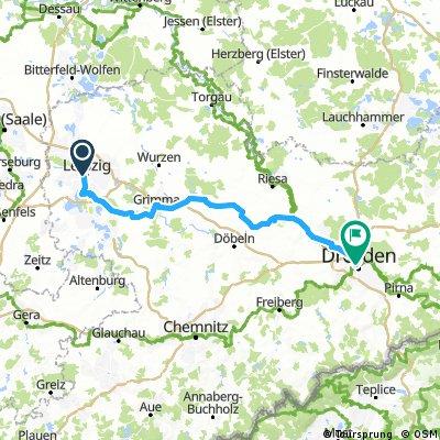 Männertagsausfahrt Leipzig - Dresden am 10. Mai 2018