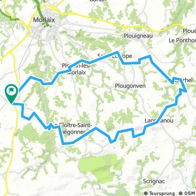 56 route KTM vers kermeur