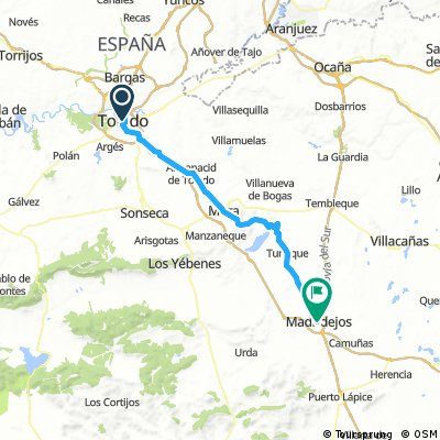 Toledo a Madridejos
