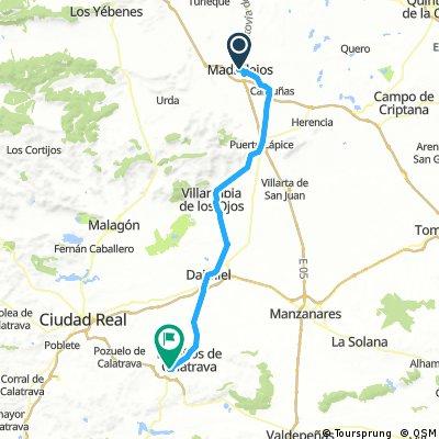 Madridejos a Almagro