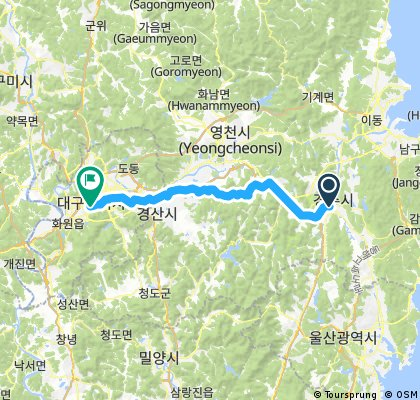Day 8 from Gyeongju To Daegu