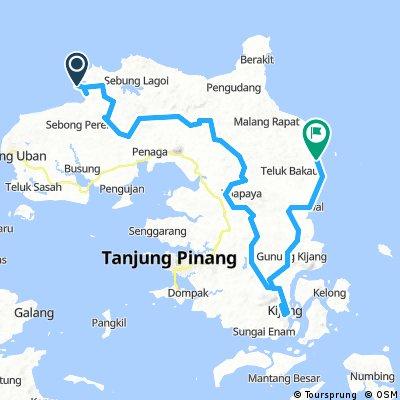 CSC Tour de Bintan 2018 Day 1