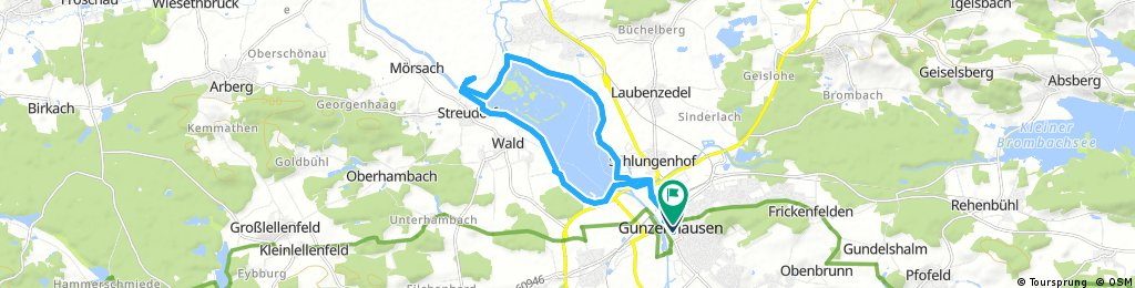 Altmühlsee Route