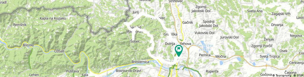 Košaki - Kungota - Gaj - Tojzlov vrh - Sv. Urban - Lucijin breg - Kamnica - Košaški dol