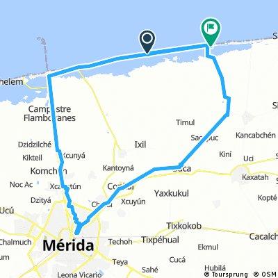 MERIDA-PROGRESO-XTAMPU-DZEMUL-MERIDA
