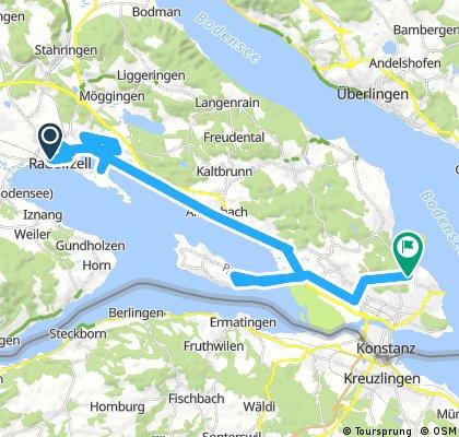 Radolfzell-Universität Konstanz (Bodenseefahrradweg)