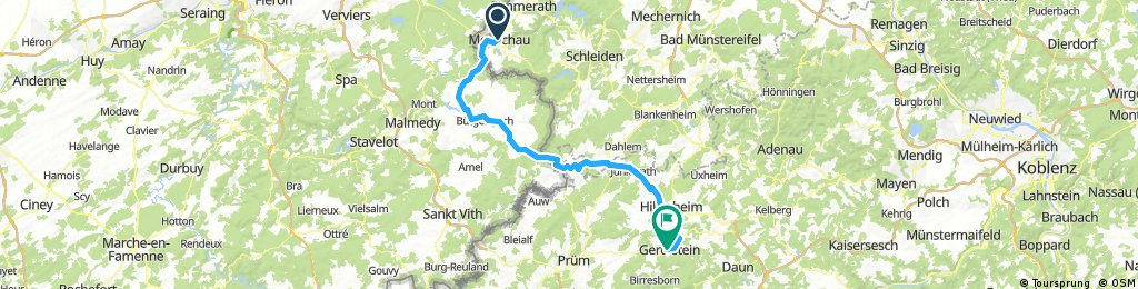 D 023: Monschau - Gerolstein