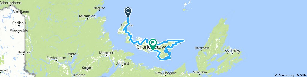 Cycling for seafood or in search of the perfect chowder